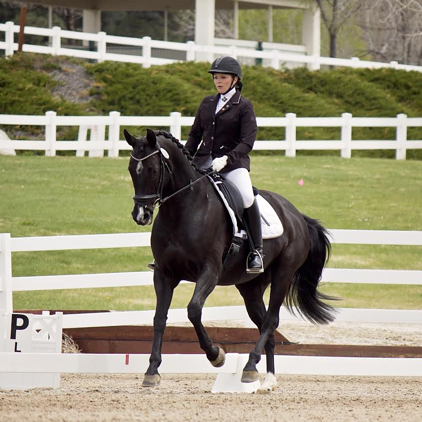 Nicole Jones - Sponsored Rider for Dressage Couture Designs