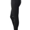 Dressage Couture Designs Active Breech in Black with Grey Silicone