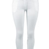 Dressage Couture Designs White Fullseat Breeches